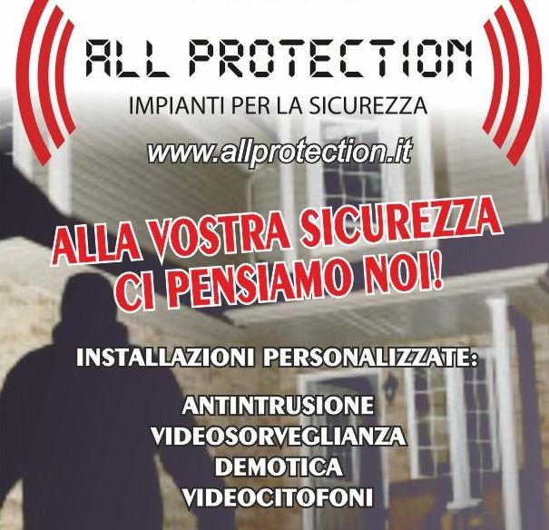All Protection impianti per la sicurezza